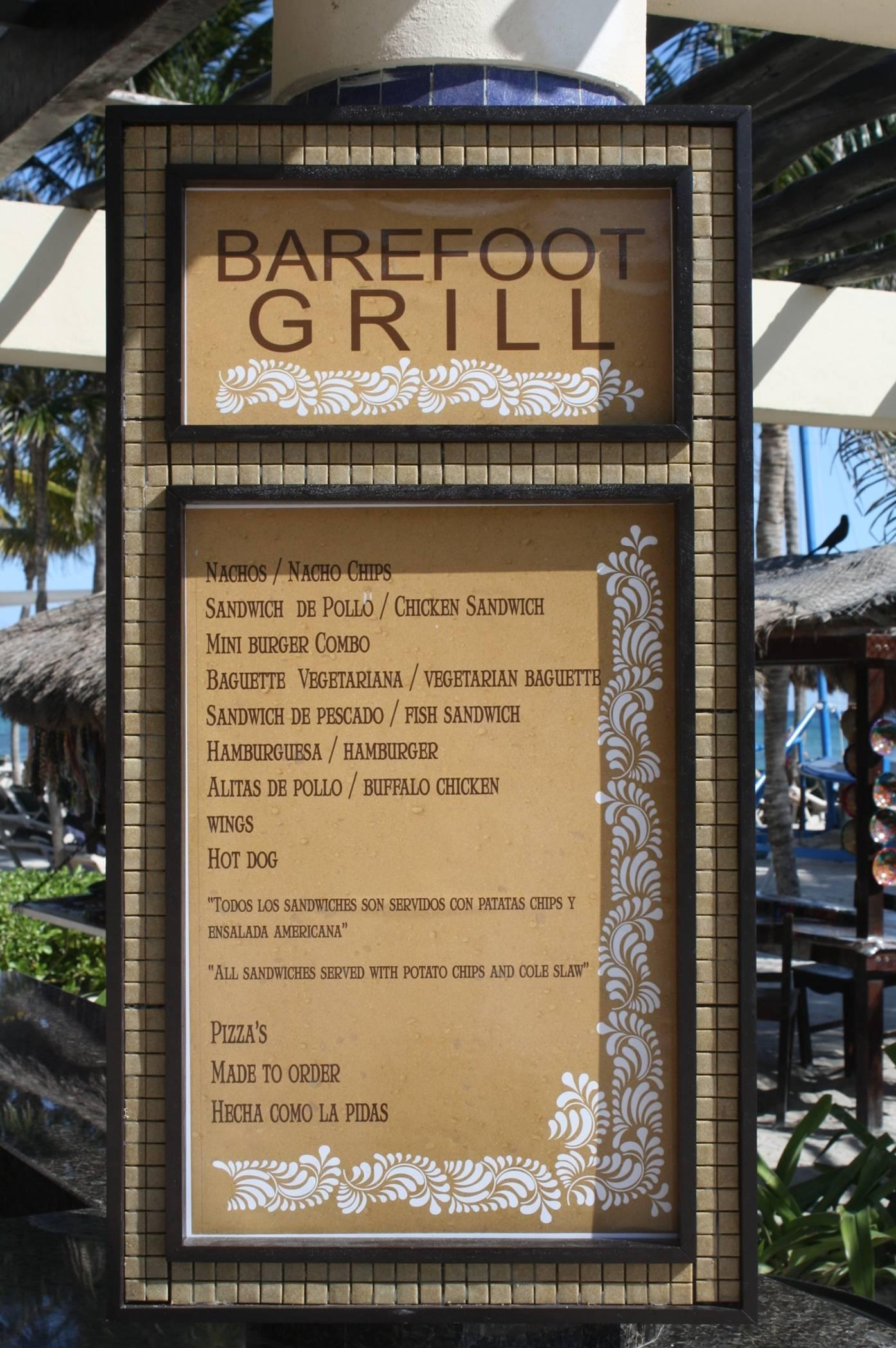 Barefoot Grill At Dreams Tulum Day Dreams The Official