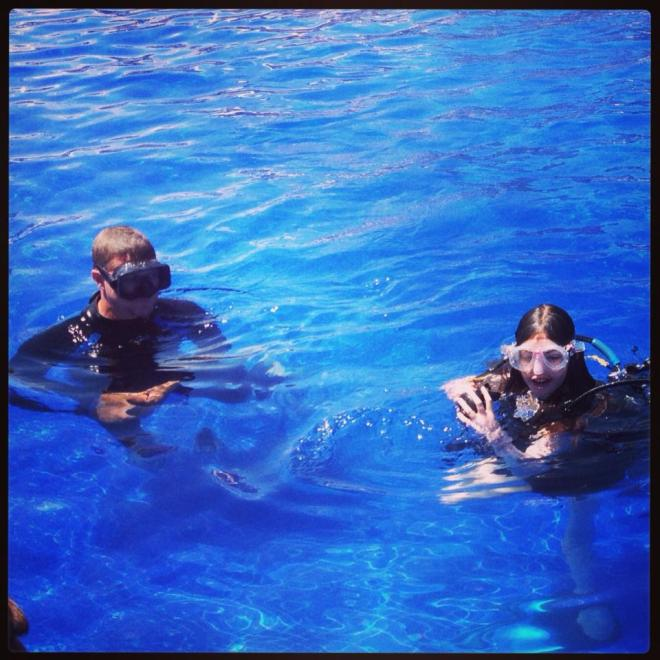 It's snorkel time at Dreams Tulum! Thanks Donna for posting this great shot on Facebook!