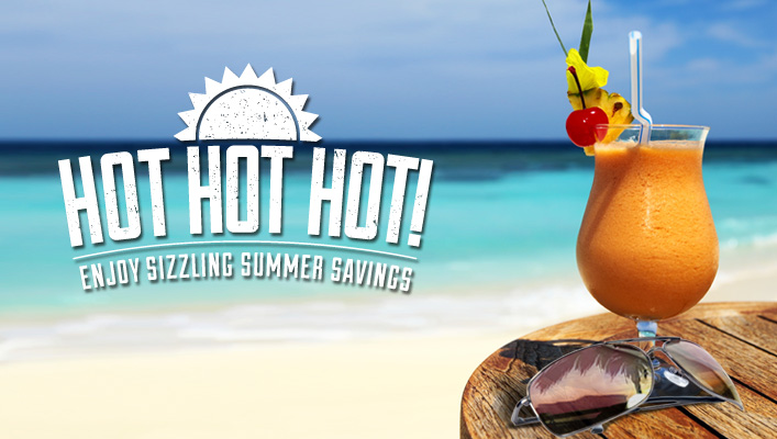 sizzlin hot promotion