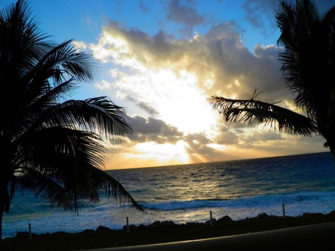 Tammy Ruesch snapped this gorgeous photo of a sunrise at Dreams Cancun Resort & Spa.