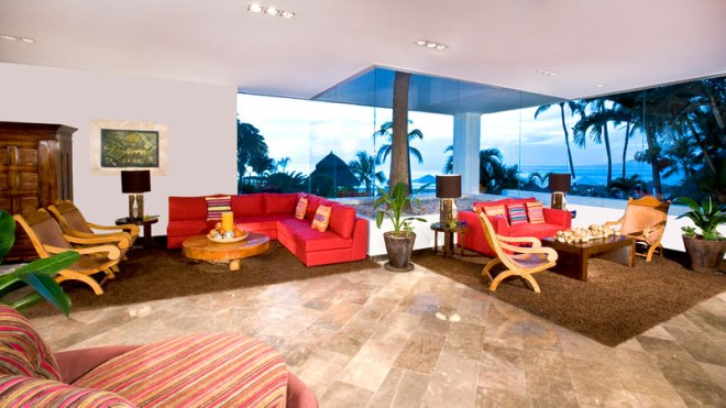 Preferred Club Lobby at Dreams Puerto Vallarta Resort & Spa