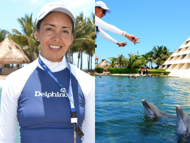 Sandra from Delphinus Dreams Cancun at Dreams Cancun Resort & Spa!