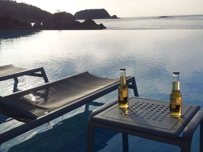 A picture really is worth a thousand words. Thanks Greg for this relaxing photo of paradise at Dreams Huatulco Resort & Spa!