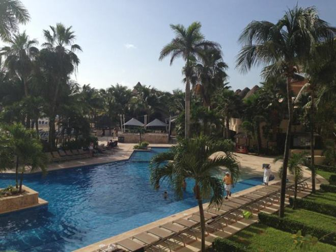 Chris captured the perfect day at Dreams Puerto Aventuras Resort & Spa.