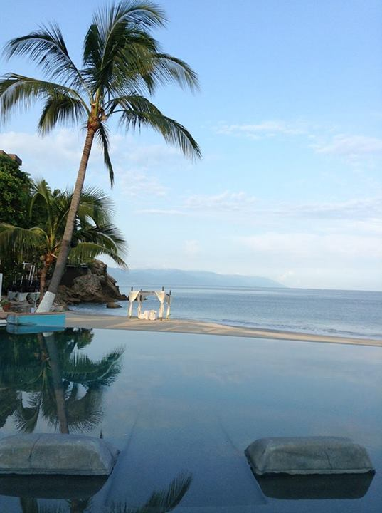 This photo of the beach at Dreams Puerto Vallarta Resort and Spa is fit for a postcard! Thanks for sharing this with us, Sylvia!