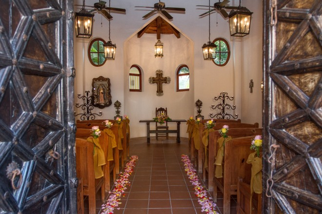 Dreams Tulum has Chapel onsite for traditional Catholic Weddings.