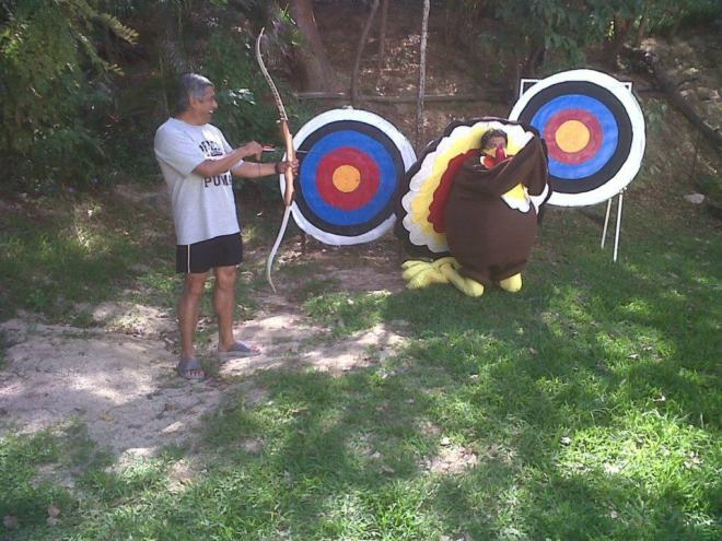 Tom Turkey was everywhere at Dreams Huatulco Resort & Spa.