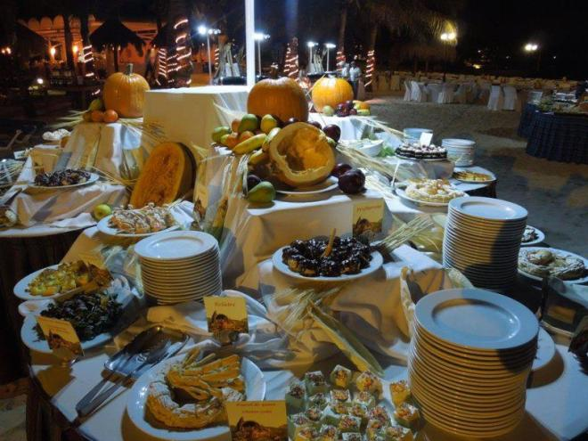 What a tasty spread! Thanksgiving at Dreams Puerto Aventuras Resort & Spa.