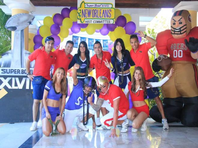 The Dreams Entertainment team at Dreams Los Cabos Suites Golf Resort & Spa