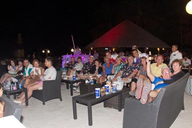 Guests enjoying the game at Dreams Villamagna Nuevo Vallarta