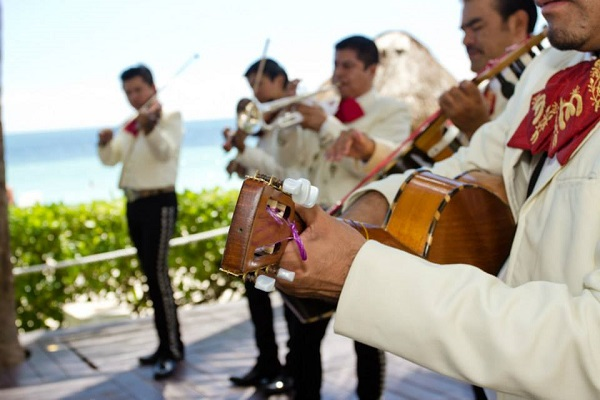 Have a Mariachi Band or Caribbean Band play at your reception and you everyone will want to dance!