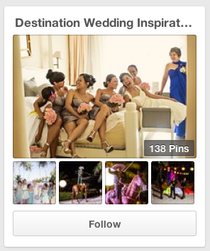 Pinterest Destination Wedding Board