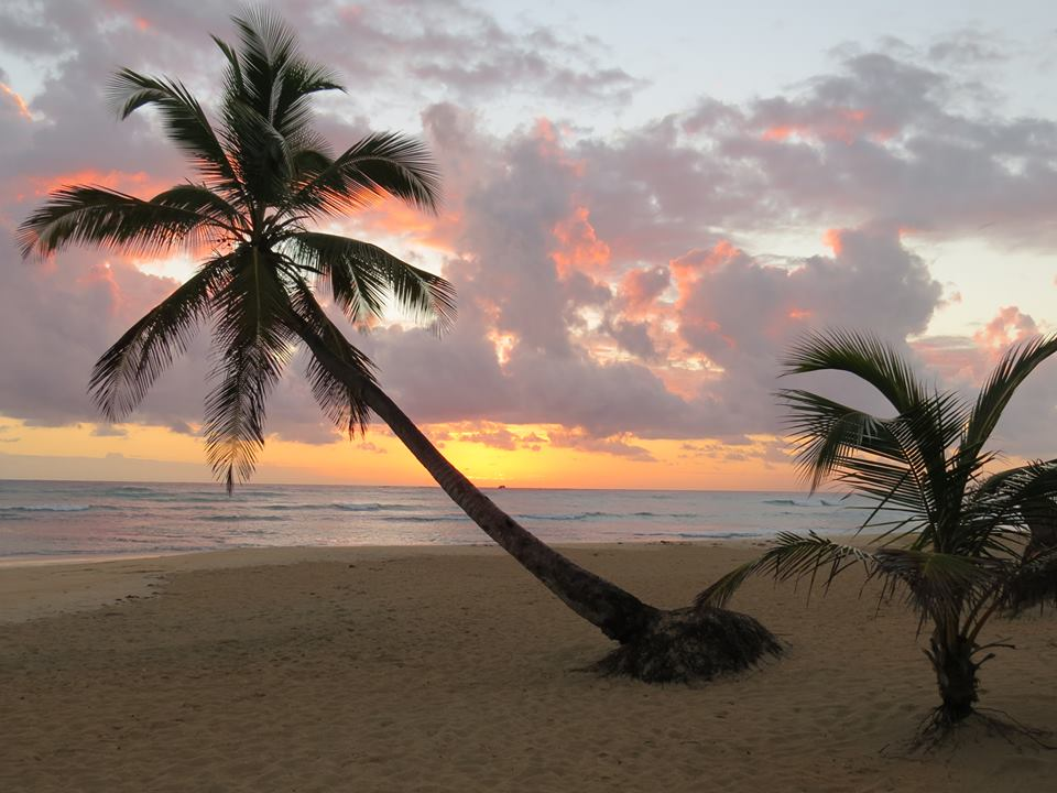 Peter F. perfectly captured the magnificent sunset sky of Dreams Punta Cana Resort & Spa.