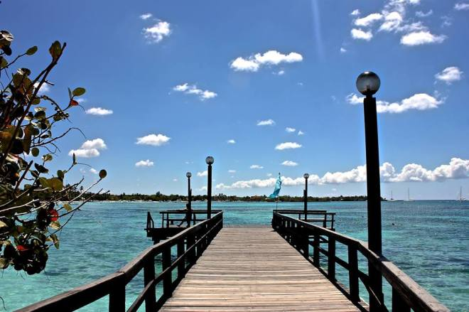 A spectacular view of the Caribbean at Dreams La Romana Resort and Spa by Patricia K.