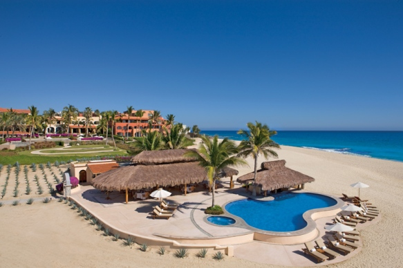 The blue sky and sea at Zoëtry Casa del Mar!