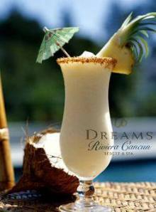 Indulge yourself with a creamy piña colada!