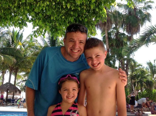 Dara Denise Cain snapped this lovely family photo at Dreams Puerto Aventuras Resort & Spa.