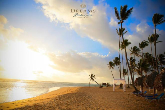 The stunning landscape of Dreams Punta Cana Resort & Spa is certainly worthy of a photo!