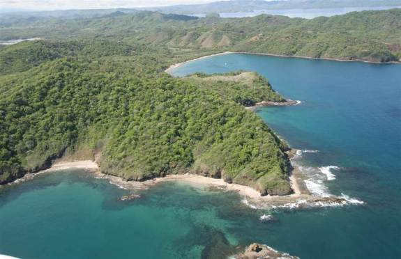 The stunning coast of Guanacaste at Dreams Las Mareas Costa Rica.