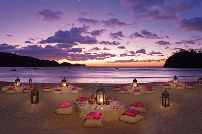 Dreams Las Mareas Costa Rica DRELM EXT ThemeDinner Beach 1A