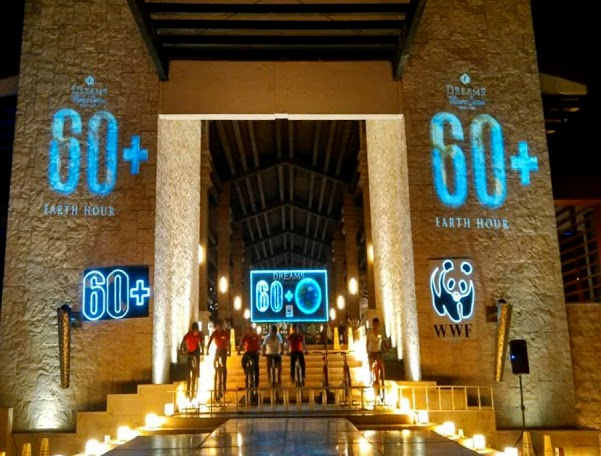 Earth Hour Dreams riviera cancun
