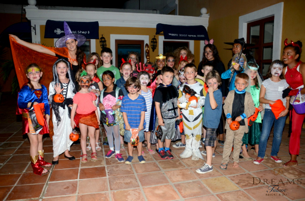 You don't want to miss out on Dreams Tulum's Trick or Treat Parade