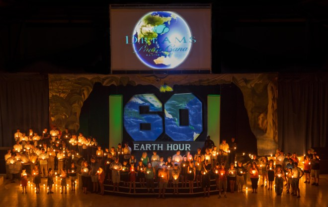 Dreams Punta Cana_Earth hour 2016 (1)