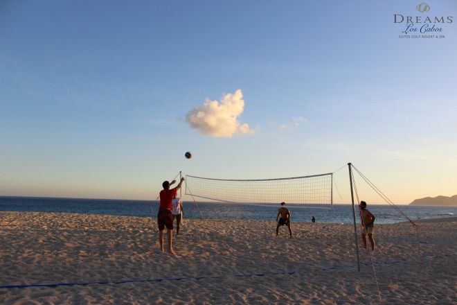 Dreams Los Cabos Resort_Beach Volleyball_All Inclusive